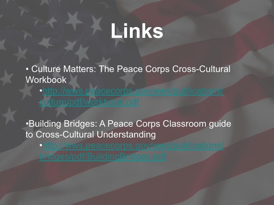Cultural Presentation slide