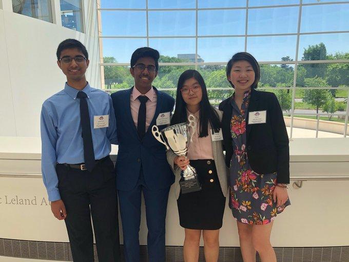 2019 National Academic WorldQuest Winners