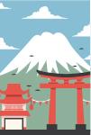 Festival at Mount Fuji