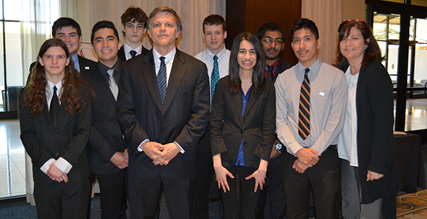 Douglas Brinkley and NWHS