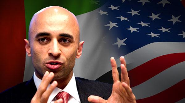 Ambassador al Otaiba and Ambassador Jordan