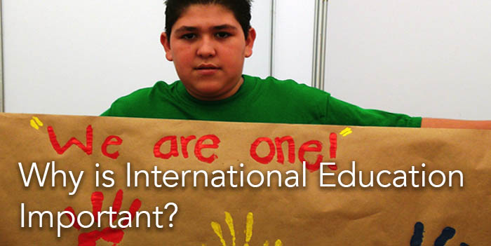 Why is International Education Important?