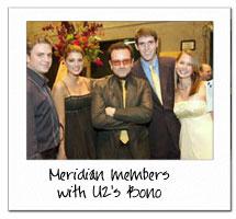 Bono and Meridians